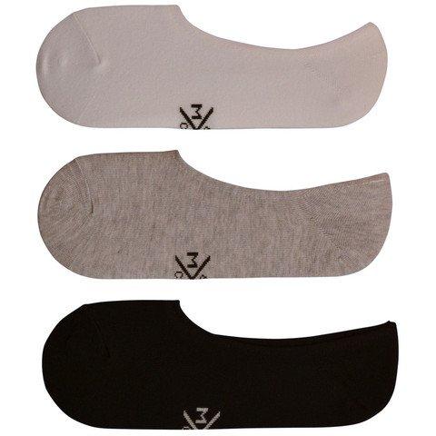 No-show Loafer Socks - Trio