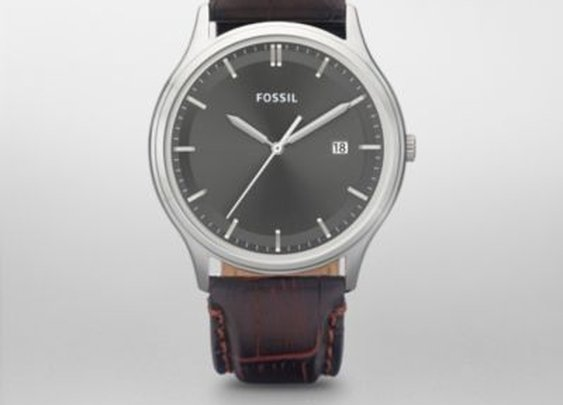 FOSSIL: Ansel Leather Watch