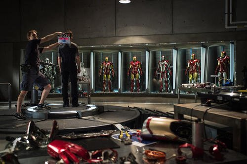 "Marvel Releases First Official ""Iron Man 3"" Photo"