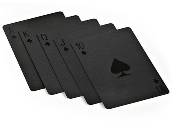 Black Playing Cards | Contemporary Masculine