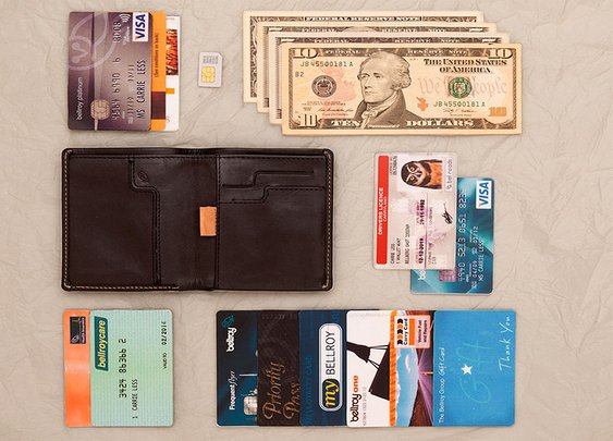 Note Sleeve Wallet - Slim Leather Wallets by Bellroy