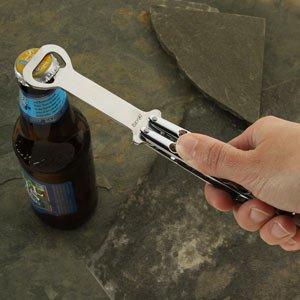 ThinkGeek :: Butterfly Knife Styled Bottle Opener