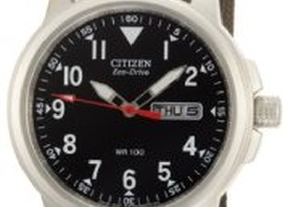 Citizen BM8180-03E Eco-Drive Canvas Strap Watch