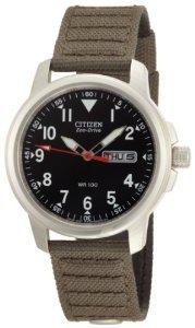Citizen BM8180-03E Eco-Drive Canvas Strap Watch