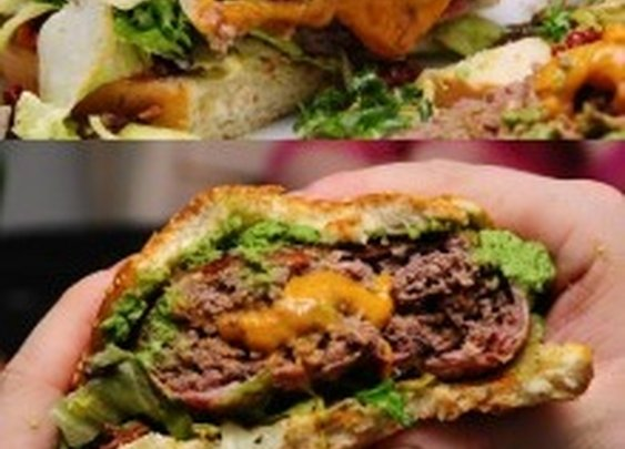 9GAG - Bacon Cheese Burger