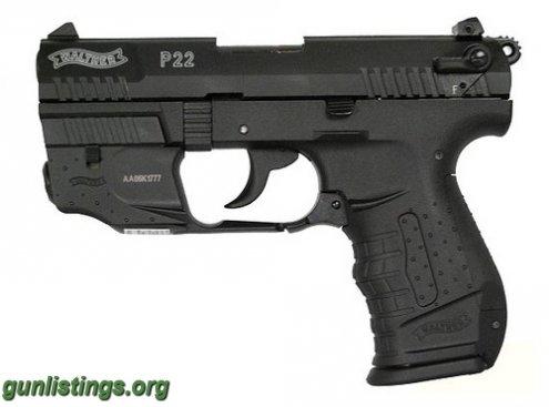 NIB Walther P22 w/ laser in sioux city, Iowa gun classifieds -gunlistings.org