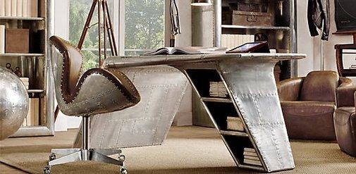Aviator Wing Desk | Restoration Hardware