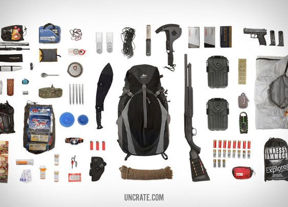 Post-Apocalyptic Survival Bag
