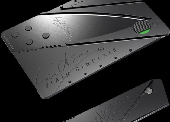 Sinclair Credit Card Knife
