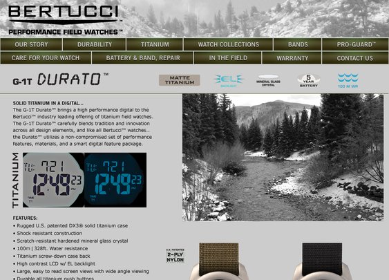 Bertucci Performance Field Watches - Durato