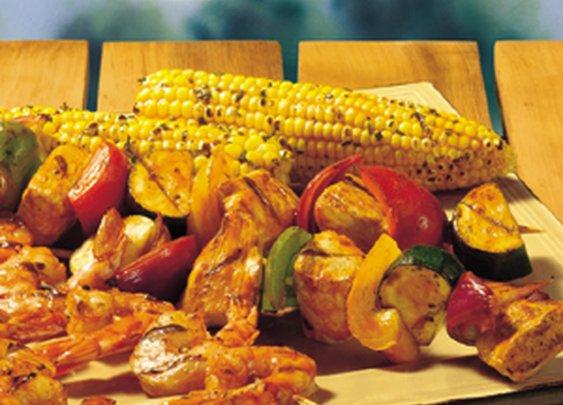 BUFFALO SHRIMP & CHICKEN KABOBS Recipe   Frank's® RedHot®