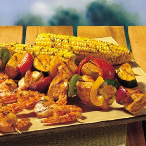 BUFFALO SHRIMP & CHICKEN KABOBS Recipe | Frank's® RedHot®