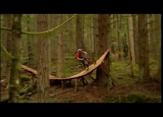 Extreme Trail Bike Riding