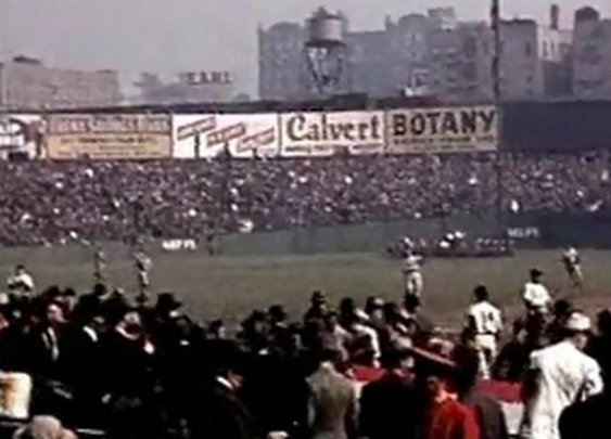 Rare Color Footage of the 1939 World Series: Yankees v. Reds | Open Culture