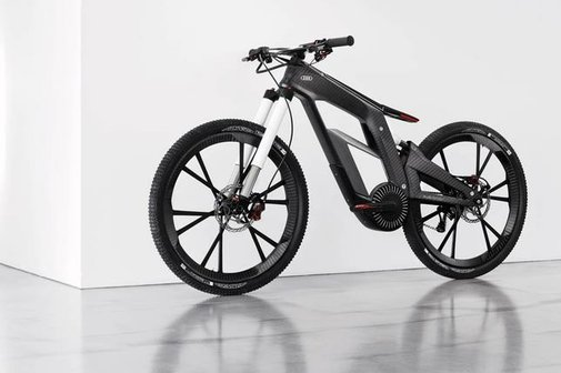 Amazing Audi e-Bike Has Segway-Like Wheelie Mode, Locks via Phone | News & Opinion  | PCMag.com