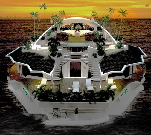 Orsos Island - the smallest personal floating island yet in a fast growing market