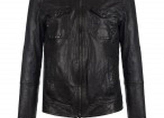 Stenburg Leather Jacket - AllSaints