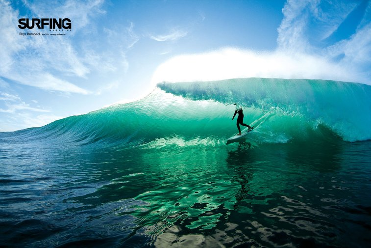 Surfing picture from Surf Mag