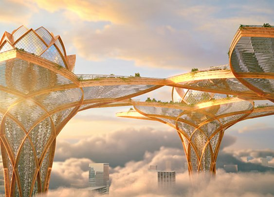 'City in the Sky,' Project by Hrama