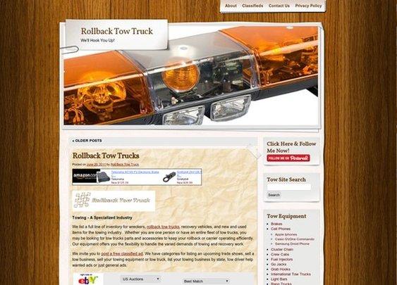 Tow Trucks Rollbacks & Wreckers / http://rollbacktowtruck.org