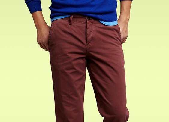 Gap garment-dyed khakis