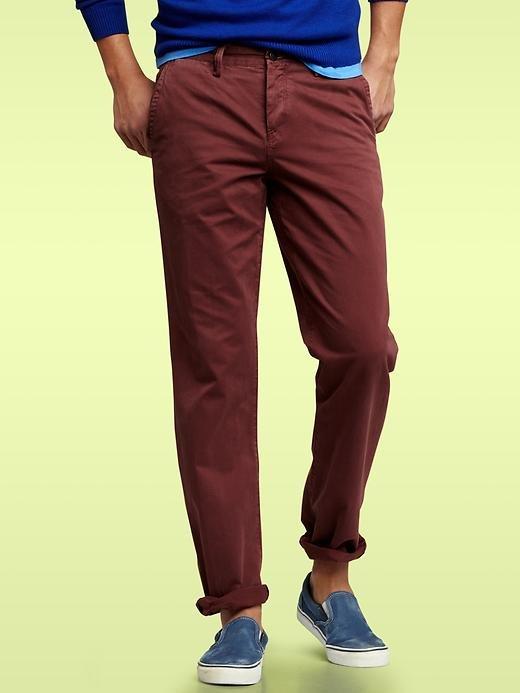 Gap garment-dyed khakis