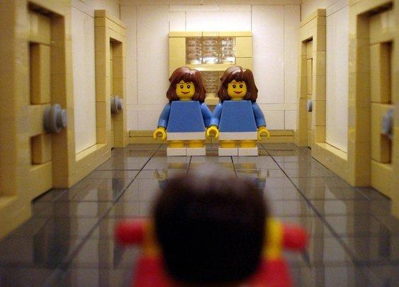 LEGO The Shining scene