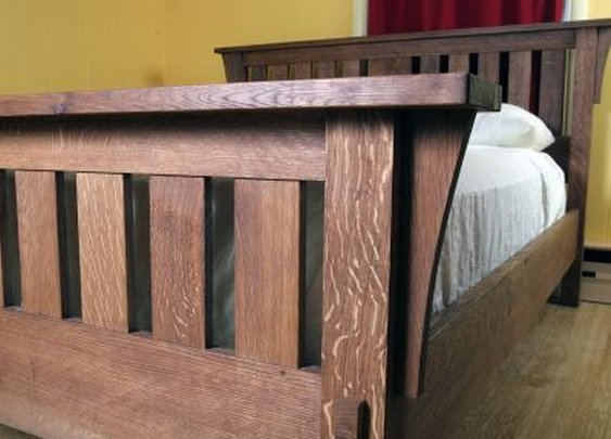 Arts and Crafts 'Morris' Bed