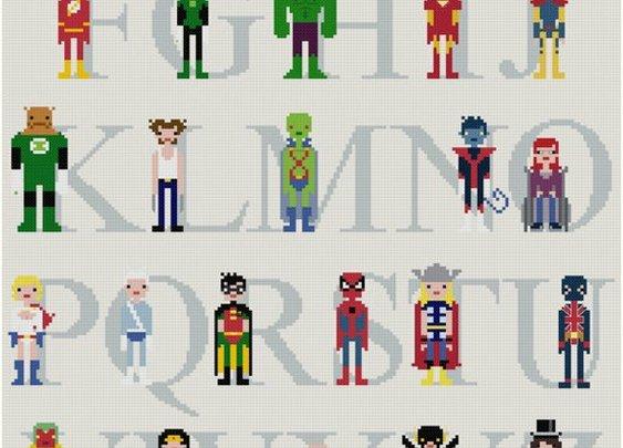 Comic Alphabet