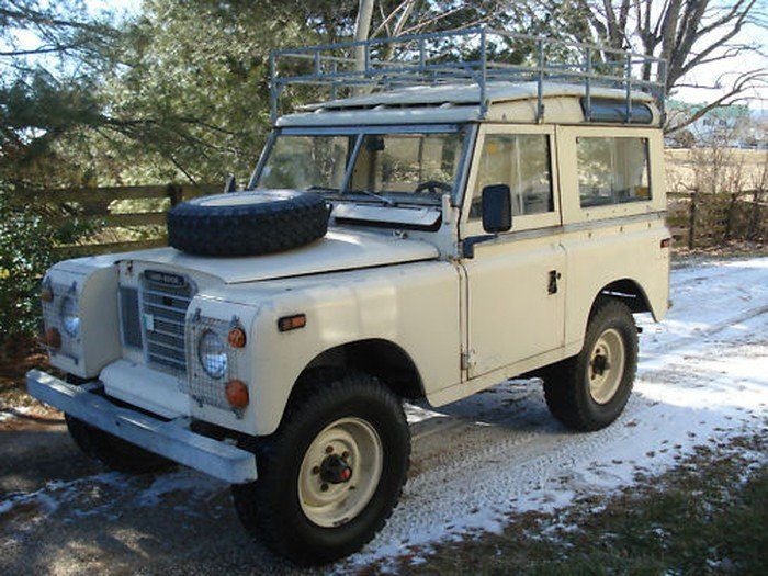 1973 Land Rover Series III Model 88