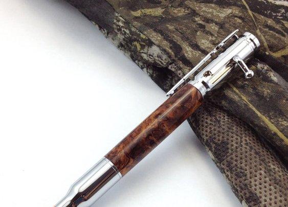 Father's Day Bullet Pen Bolt Action 30 Caliber by DesignedTurning