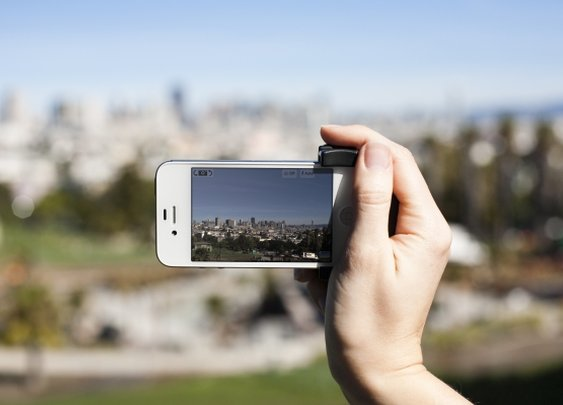 Turn Your iPhone Into A REAL Camera With The iPhone Shutter Grip