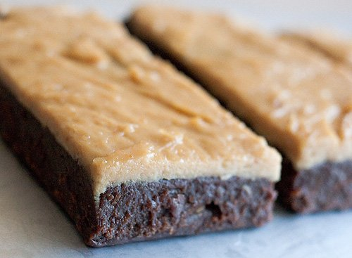 Candice's Low Carb Chewy Chocolate Fudge Peanut Butter Protein Bars «  Candice's Low Carb Recipes