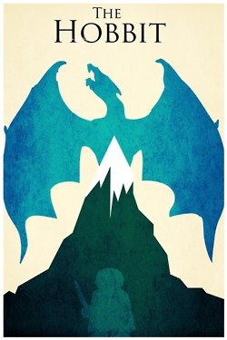Fuck Yeah, Movie Posters! — The Hobbit by Harshness