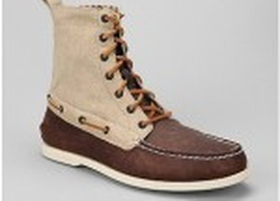 Sperry Top-Sider Canvas And Leather Deck Boot | GentDeals.com