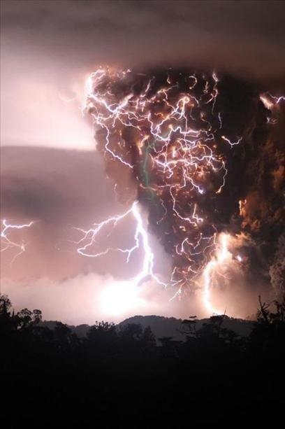 Tornado of lightening