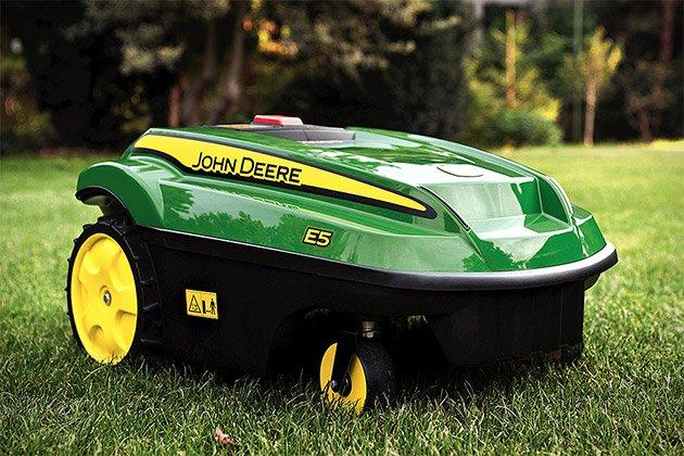 John Deere Tango E5 Autonomous Mower   Uncrate