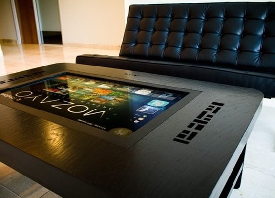Mozayo Interactive MultiTouch Table | Contemporary Masculine