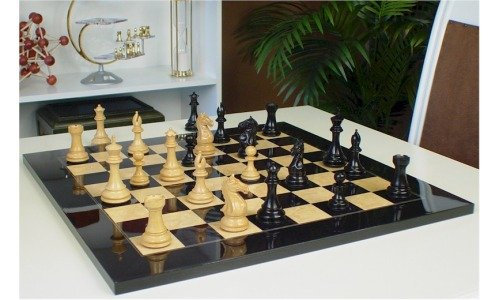 Ebony Chess Set