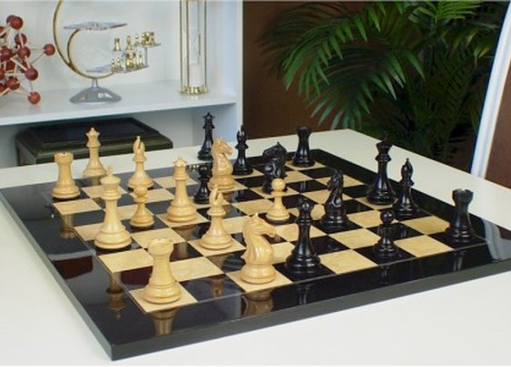 Ebony Chess Set