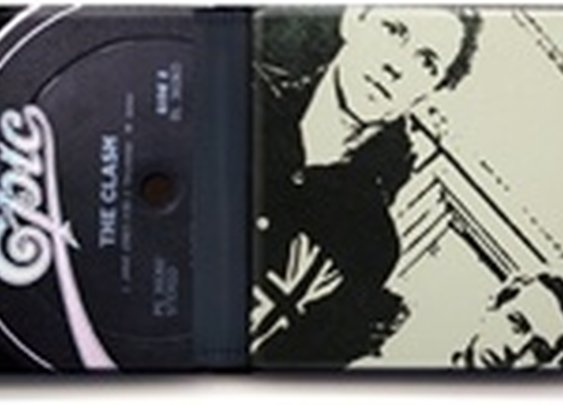 The Clash Modern Record Wallet