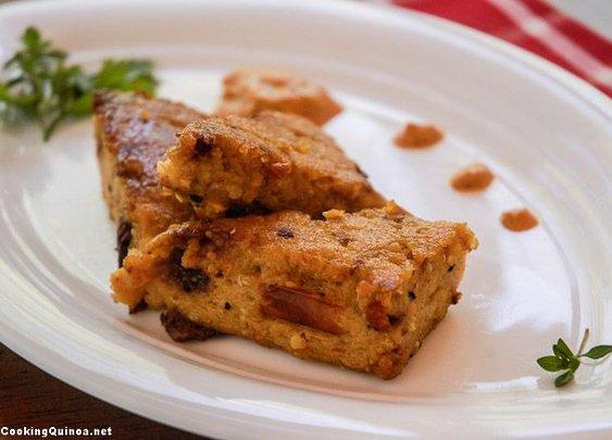 Quinoa Polenta Wedges