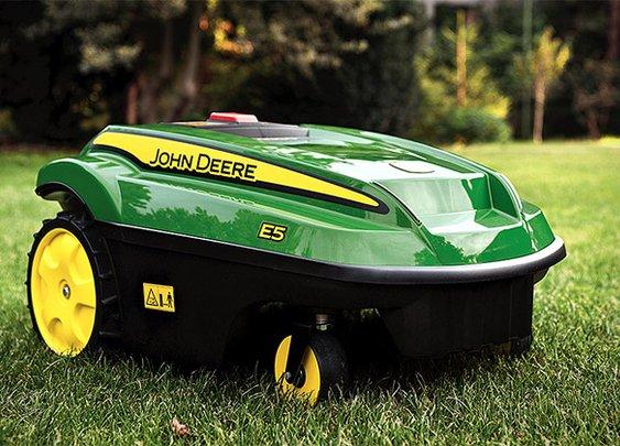 John Deere Tango E5 Autonomous Mower | Uncrate