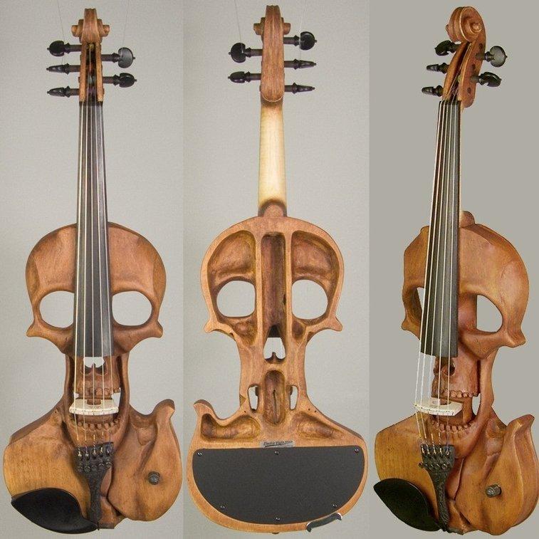 Stratton Skull 5-string Electric Violin