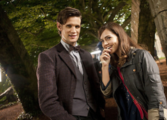 First Photo Of Matt Smith and Jenna-Louise Coleman On Set « SciFi TAKEOVER