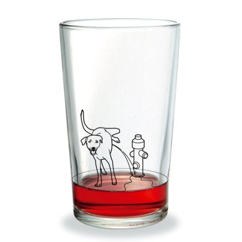 Yum! A Dog Peeing On My Glass