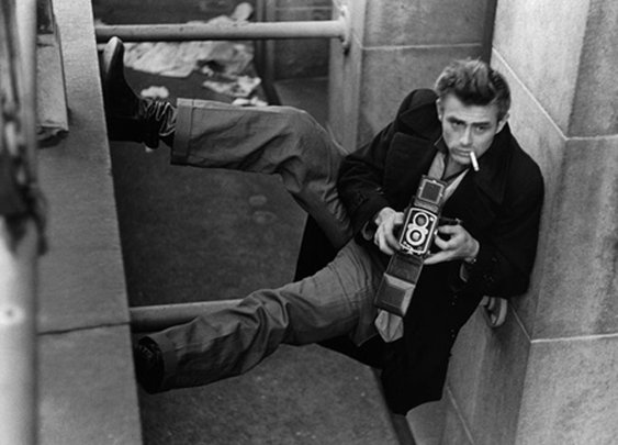 James Dean makes anything look cool