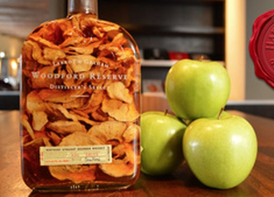Bourbon + Granny Smith = Awesome