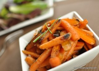 Brown Butter and Ginger Glazed Baby Carrots. - Something Edible