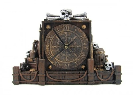 Miss Cellania: Pirate Clock